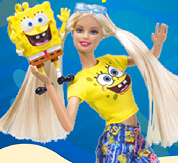 Barbie ve Sünger Bob